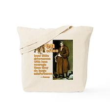 Men Often Bear Tote Bag