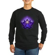 "Purple ""Third Eye"" Chakra Lotus T"