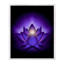 "Purple ""Third Eye"" Chakra Lotus Stadium"