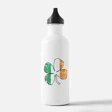 Irish Shamrock Water Bottle
