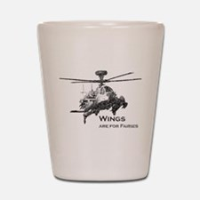 Wings are for Faries AH-64D Shot Glass