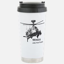 Wings are for Faries AH-64D Stainless Steel Travel