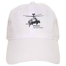 Wings are for Faries AH-64D Baseball Cap