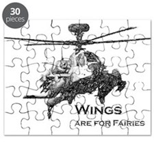 Wings are for Faries AH-64D Puzzle
