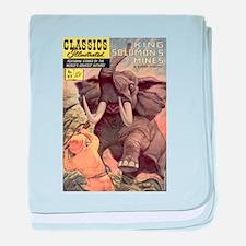 King Solomon's Mines baby blanket