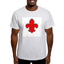FleurRedBlk T-Shirt