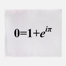 Euler Formula Throw Blanket