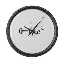 Euler Formula Large Wall Clock
