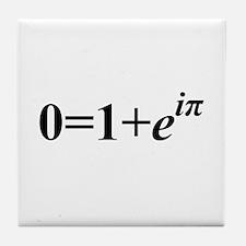 Euler Formula Tile Coaster