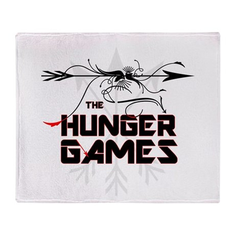 Hunger Games Gear Throw Blanket