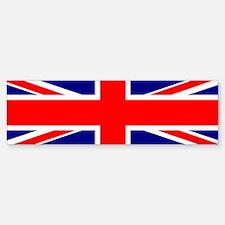 UK Flag Bumper Bumper Bumper Sticker