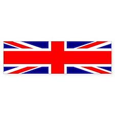 UK Flag Bumper Bumper Sticker