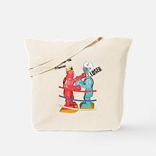 Rock 'Em Sock 'Em Tote Bag