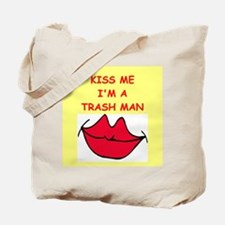 trash man Tote Bag