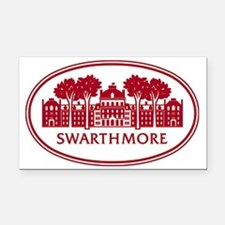 Cute Colleges logo Rectangle Car Magnet