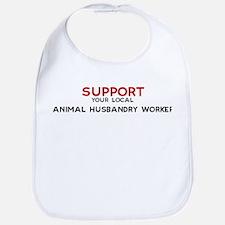 Support:  ANIMAL HUSBANDRY WO Bib