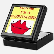 paleotology Keepsake Box
