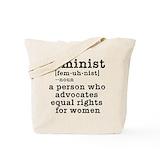 Feminist Canvas Totes