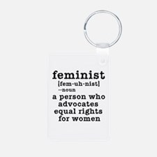 Feminist Definition Keychains