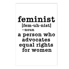 Feminist Definition Postcards (Package of 8)