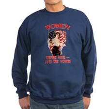 Women 52% and We Vote Sweatshirt