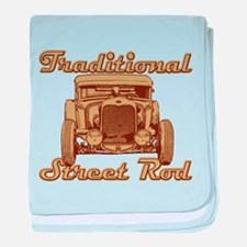 Chopped 1930 Ford Coupe baby blanket
