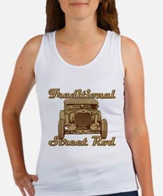Chopped 1930 Ford Coupe Women's Tank Top