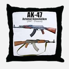 Firearm Gun Throw Pillow