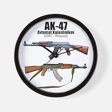 Firearm Gun Wall Clock