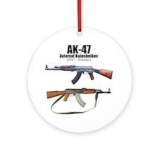 Firearm Gun Ornament (Round)