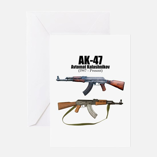 Firearm Gun Greeting Card