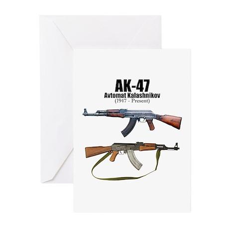 Firearm Gun Greeting Cards (Pk of 10)