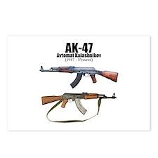 Firearm Gun Postcards (Package of 8)