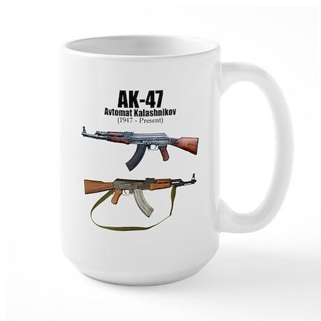 Firearm Gun Large Mug