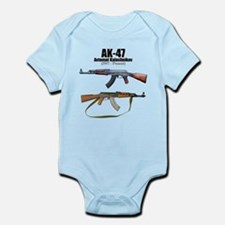 Firearm Gun Infant Bodysuit