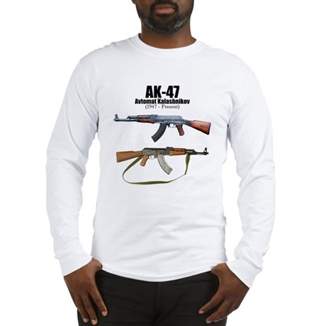 Firearm Gun Long Sleeve T-Shirt