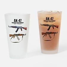 Firearm Gun Drinking Glass