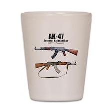 Firearm Gun Shot Glass