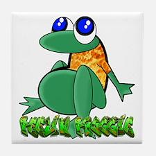 Feelin Froggy Tile Coaster