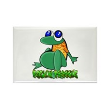 Feelin Froggy Rectangle Magnet