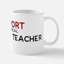 Support:  ANATOMY TEACHER Mug