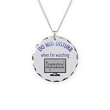 Do Not Disturb Supernatural Necklace