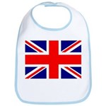 Union Jack Snap Bib