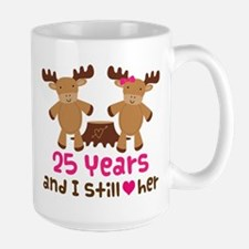25th Anniversary Moose Mugs