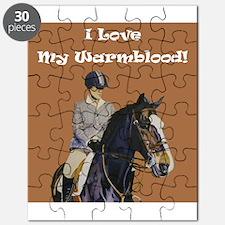 I Love My Warmblood! Puzzle