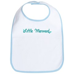 Little Mermaid Bib