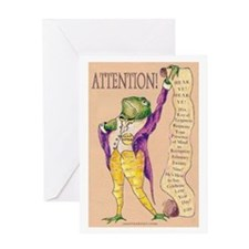 ATTENTION! Greeting Card