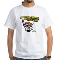 Dexter I Have No Friends White T-Shirt