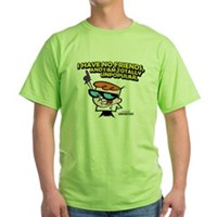 Dexter I Have No Friends Green T-Shirt