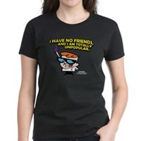 Dexter I Have No Friends Women's Dark T-Shirt
